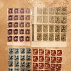 Timbres: 20 SERIES NUEVAS RUBENS 1434/37. Lote 288986643