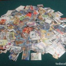 Francobolli: LOTE DE MAS DE 300 SELLOS USADOS EN EUROS. Lote 289681253