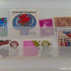 Sellos: LOTE SELLOS CUBA AMÉRICA EUROPA. Lote 289730618