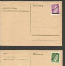 Sellos: AUSTRIA CONJUNTO DE 2 TARJETAS POSTALES HITLER. Lote 295915698