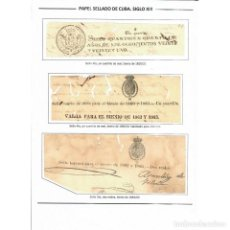 Sellos: ⚡ DISCOUNT CUBA POSTAGE STAMPS OF CUBA - COLLECTIONS. Lote 295953183