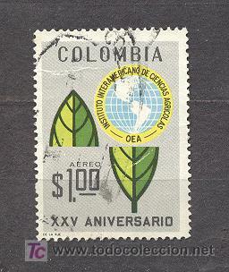 COLOMBIA 1969, XXV ANIVERSARIO DE I.I.C.A. (Sellos - Extranjero - América - Colombia)