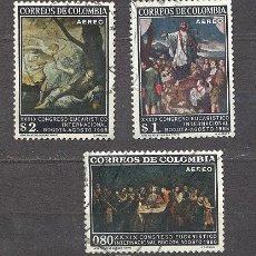 Sellos: COLOMBIA 1968, CONGRESO INTERNACIONAL EUCARISTICO DE BOGOTA. Lote 21018992