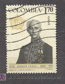 COLOMBIA 1967, JOSE JOAQUIN CASAS (Sellos - Extranjero - América - Colombia)