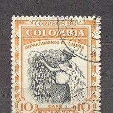 Sellos: COLOMBIA 1956, CAFÉ. Lote 21032104