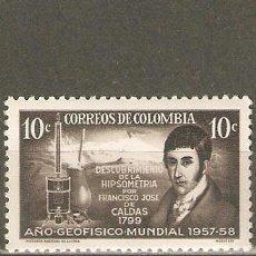Sellos: COLOMBIA YVERT NUM. 547 ** SERIE COMPLETA SIN FIJASELLOS . Lote 96053344