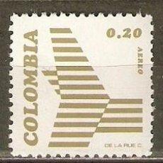 Sellos: COLOMBIA CORREO AEREO YVERT NUM. 577 ** SERIE COMPLETA SIN FIJASELLOS. Lote 140518554