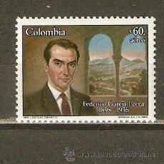 Sellos: COLOMBIA CORREO AEREO YVERT NUM. 759 ** SERIE COMPLETA SIN FIJASELLOS. Lote 150366648