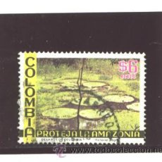 Sellos: COLOMBIA 1975 - YVERT NRO. 589 PA - USADO. Lote 42806558