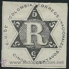 Sellos: COLOMBIA YVERT Nº 1 (*). Lote 44295547