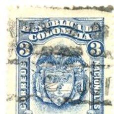 Sellos: 2-COLOM244. SELLO USADO COLOMBIA. YVERT Nº 244. ESCUDO DE COLOMBIA. Lote 45368215
