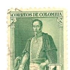 Sellos: 2-COLOM299. SELLO USADO COLOMBIA. YVERT Nº 299. LIBERTADOR SIMÓN BOLIVAR. Lote 45368399