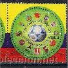 Sellos: FÚTBOL EN COLOMBIA. SELLO AÑO 2001. Lote 145398598
