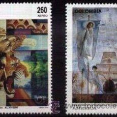 Sellos: COLOMBIA 1992 SERIE UPAEP DESCUBRIMIENTO DE AMERICA NUEVO LUJO MNH *** SC. Lote 49691502