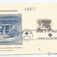 Sellos: 1956 - CRUZ ROJA - COLOMBIA. Lote 51126960