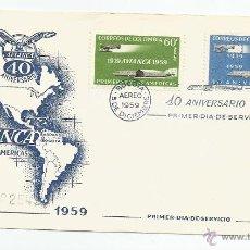 Sellos: 1958 - AVIACIÓN - COLOMBIA. Lote 51126982