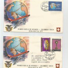 Sellos: 1971 - AVIACIÓN - COLOMBIA. Lote 51126997