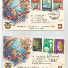Sellos: 1971 - AVIACIÓN - COLOMBIA. Lote 51127017