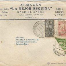 Sellos: COLOMBIA - CORREO LOCAL. 1942 HISTORIA POSTAL FRONTAL DE SOBRE. CORREO INTERIOR DE BARRANCABERMEJA. . Lote 53418287