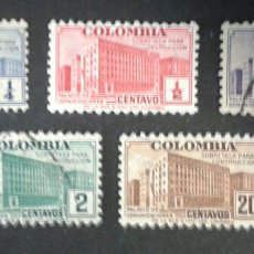 Sellos: SELLOS DE COLOMBIA. YVERT 333/7. SERIE COMPLETA USADA. . Lote 56178705