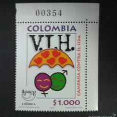 Sellos: SELLOS DE COLOMBIA. AMÉRICA UPAEP. YVERT 1131. SERIE COMPLETA NUEVA SIN CHARNELA.. Lote 56193575