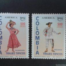 Sellos: SELLOS DE COLOMBIA. AMÉRICA UPAEP. YVERT 1067/8. SERIE COMPLETA NUEVA SIN CHARNELA.. Lote 56193578