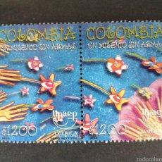 Sellos: SELLOS DE COLOMBIA. AMÉRICA UPAEP. YVERT 1117/8. SERIE COMPLETA NUEVA SIN CHARNELA.. Lote 56193580