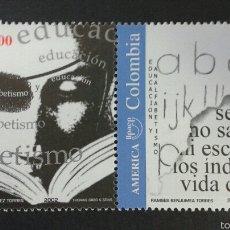 Sellos: SELLOS DE COLOMBIA. AMÉRICA UPAEP. YVERT 1178/9. SERIE COMPLETA NUEVA SIN CHARNELA.. Lote 56193603