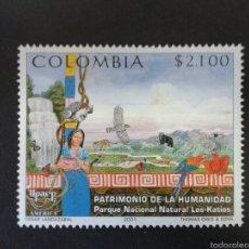 Sellos: SELLOS DE COLOMBIA. AMÉRICA UPAEP. YVERT 1149. SERIE COMPLETA NUEVA SIN CHARNELA.. Lote 56193606