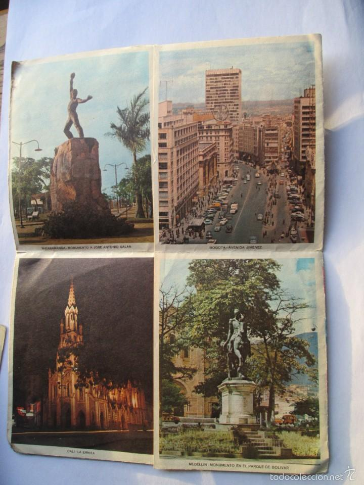 Sellos: CARTA COLOMBIA 1965 BOTOGA MEDELLIN BARRANQUILLA CARTAGENA BUCARAMANGA CALI - Foto 3 - 56861361