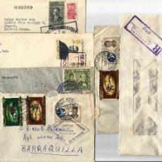 Sellos: COLOMBIA LOTE DE SEIS SOBRES PARA EL CORREO INTERIOR.. Lote 58298934
