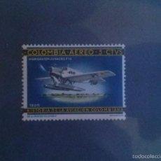 Sellos: SELLO DE COLOMBIA 1965/1966 - HISTORIA DE LA AVIACION DE COLOMBIA - NUEVO -. Lote 58454893