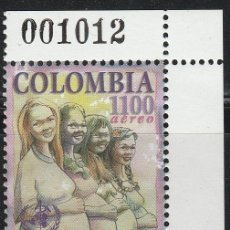 Sellos: COLOMBIA. 1998. .AEREO. **.MNH. Lote 61253651