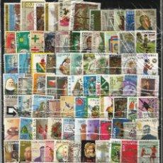 Sellos: LOTE DE 100 SELLOS VARIADOS DE COLOMBIA USADOS EN PERFECTO ESTADO. Lote 62012280
