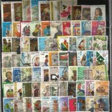 Sellos: LOTE DE 100 SELLOS VARIADOS DE COLOMBIA USADOS EN PERFECTO ESTADO. Lote 62039988