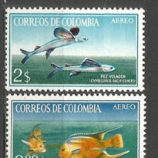 Sellos: COLOMBIA CORREO AEREO YVERT NUM. 462/464 ** SERIE COMPLETA SIN FIJASELLOS. Lote 66607370