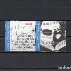 Sellos: COLOMBIA 2002, YVERT 1178-79, MNH-SC. Lote 70246525