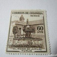 Sellos: CORREOS DE COLOMBIA JAVIER PEREIRA 167 AÑOS DE EDAD 20CTV L6. Lote 75653575