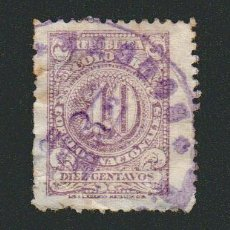 Sellos: COLOMBIA.1908.-10 CENT.YVERT 189.USADO.. Lote 77922313