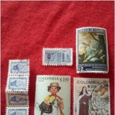 Timbres: LOTE 8 SELLOS DE COLOMBIA N151. Lote 91611619