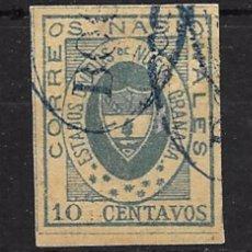 Sellos: COLOMBIA YVERT Nº 12 USADO. Lote 98530935