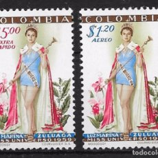 Sellos: COLOMBIA YVERT Nº AV. 315/36*. Lote 98539255