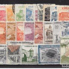 Sellos: COLOMBIA. LOTE DE 2 SERIES AÉREAS. Lote 98542495