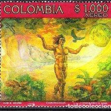 Sellos: COLOMBIA 1998 - USADO. Lote 98831027