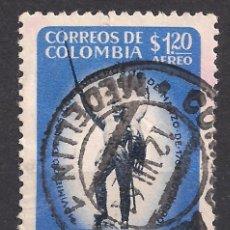 Sellos: COLOMBIA 1960 - USADO. Lote 98833863