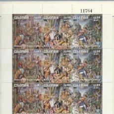 Sellos: PLIEGO NUMERADO 11764: MILENARIO DE LA LENGUA CASTELLANA. Lote 99096803