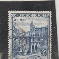 Sellos: COLOMBIA 1958 - YVERT NRO. 306 PA - USADO . Lote 103685963