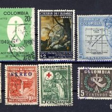 Sellos: COLOMBIA.- LOTE 3.-. Lote 109441359