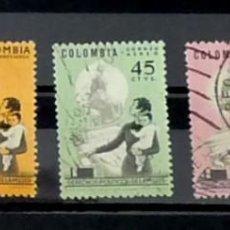 Sellos: COLOMBIA - DERECHOS DE LA MUJER. Lote 121163291