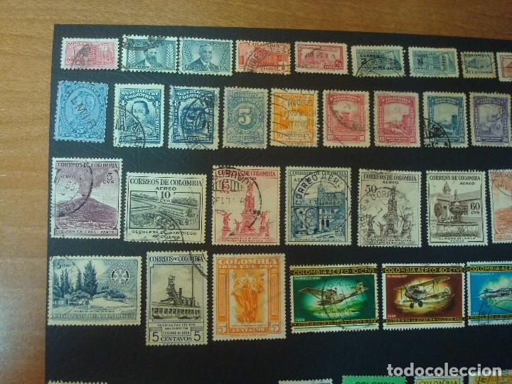 Sellos: Colombia-Lote de 47 Sellos distintos - Foto 2 - 139568602